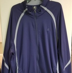 Starter Dry Star jacket (2XL) Navy Blue